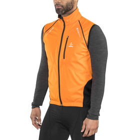 Löffler San Remo Windstopper Softshell Bike Zip-Off Jacke Herren orange